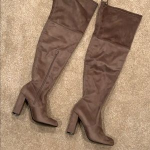 NWOT A New Day Over the Knee Boots